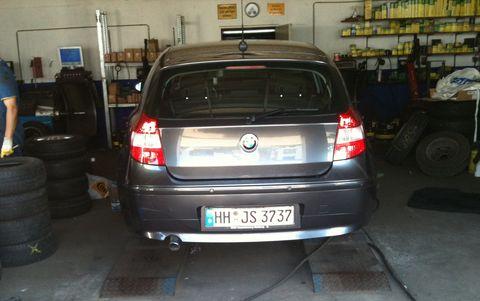 Bmw-120d-reifenwechsel in BMW 120d (E87): Danke und Goodbye, mein Freund