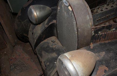 Bugatti-57-scheunenfund in Mille Miglia: Bugatti 57-Scheunenfund bei Lankes Auktion