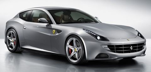 Ferrari-ff-grigio in Der Ferrari FF zeigt sich in Asien