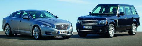 Jaguar-und-range-rover in Jaguar und Land Rover drehen auf