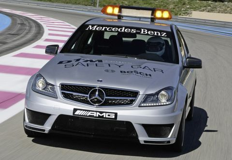 Mercedes-c-63-mag-safety-car-4 in DTM: Mercedes-Benz C 63 AMG macht Job als Safety Car