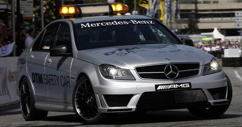Mercedes-c-63-mag-safety-car-6 in DTM: Mercedes-Benz C 63 AMG macht Job als Safety Car