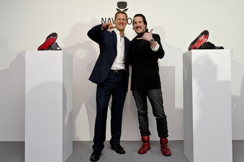 Michael-schumacher-adrian-j-margelist-2 in Launch-Party von Michael Schumacher und Navyboot