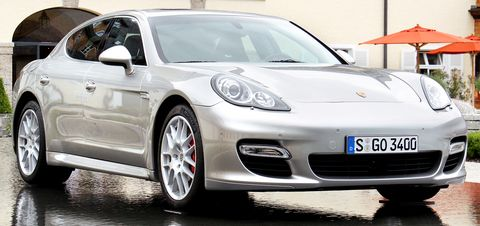Porsche-panamera in Porsche: Updates für Cayenne und Panamera