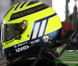 Sascha-bert-helm in Sascha Bert und Vulkan Racing: Sieg und Platz 2 in der neuen Saison