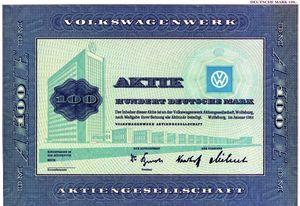 Vw-aktie in VWs Aktie wird 50