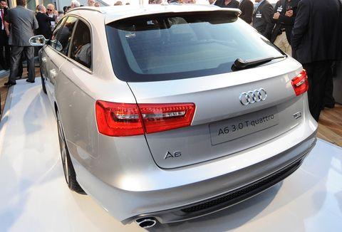 Audi-a6-avant-back in Audi A6 Avant: Schöne Hüllen über Berlin