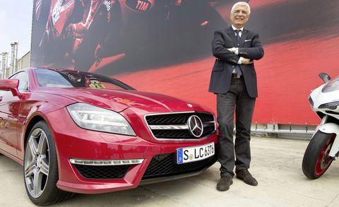 Gabriele-del-torchio-1 in Ducati-Chef Gabriele del Torchio fährt Mercedes CLS 63 AMG