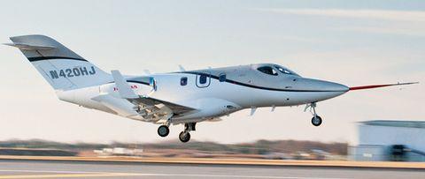 Hondajet-1 in Der Jet von Honda wird flügge