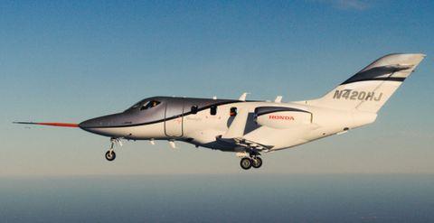 Hondajet-2 in Der Jet von Honda wird flügge