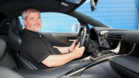 n rburgring manfred sattler hat den ersten lexus lfa in. Black Bedroom Furniture Sets. Home Design Ideas