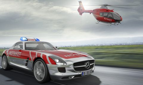 Mercedes-sls-amg-notarzt in