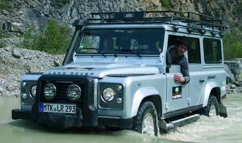 Peer-kusmagk-land-rover-experience in Peer Kusmagk startet bei der Land Rover Experience Tour