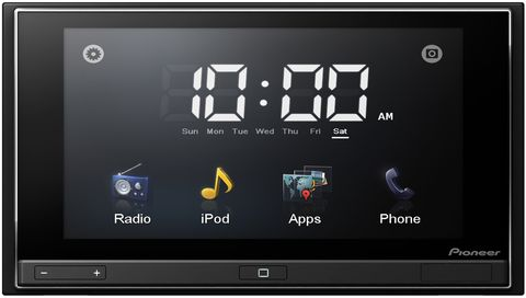 Pioneer-appradio in iPhone Apps im Auto: AppRadio von Pioneer