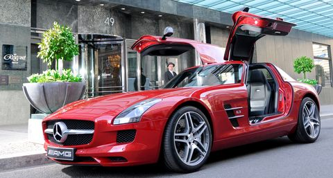The-regent-berlin-mercedes-sls-amg in