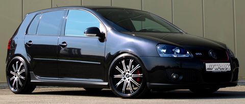 Work-wheels-golf-v-gti-1 in Work Wheels veredeln den VW Golf V GTI