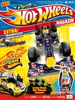 Hot-Wheels-Magazin in Hot Wheels: Frisches Magazin bald am Kiosk