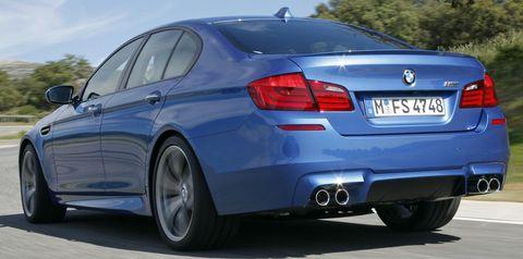 Bmw-m5-5 in Der neue BMW M5 (F10) dreht auf
