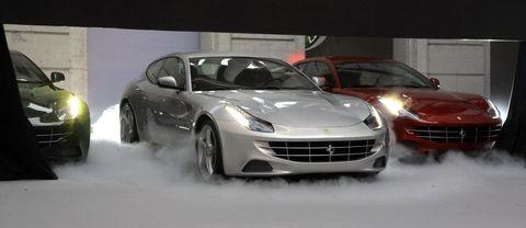 Ferrari-ff-in-berlin in Ferrari FF: Pompöse Vorstellung in Berlin