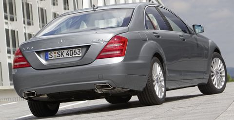 Mercedes-s-350-bluetec-4 in Luxus-Klasse: Mercedes-Benz S 350 BlueTec
