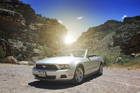 37532 1328612346728 1573536384 30782178 6254389 N in Impressionen: Ford Mustang Cabriolet