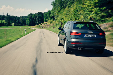 DSC 89901 in Impressionen: Audi Q3