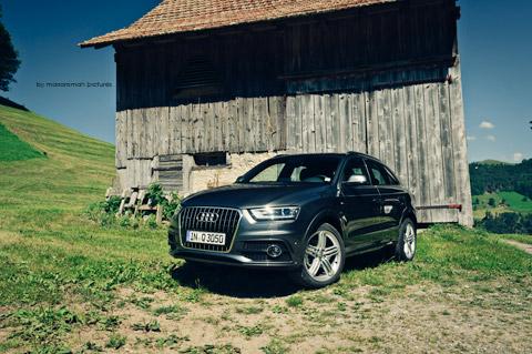 DSC 9134 in Impressionen: Audi Q3