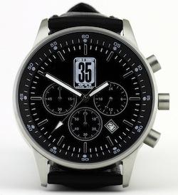 GTI35-Chronograph in GTI35: Der Chronograph zum 35. Geburtstag des VW Golf GTI