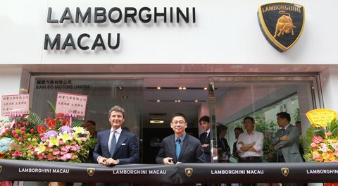 Lamboghini-macau in Lamborghini: Neuer Showroom in Macau