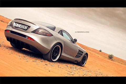 Slr722 0192 in Impressionen: Mercedes-Benz SLR McLaren 722