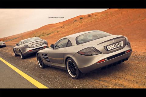 Slr722 0261 in Impressionen: Mercedes-Benz SLR McLaren 722