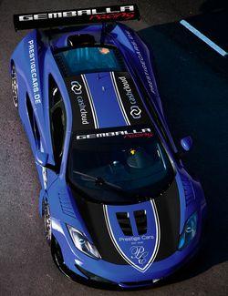 Gemballa-racing-McLaren-MP4-12C-GT3-b in Sascha Bert: Zakspeed wird Einsatzteam für Gemballa racing