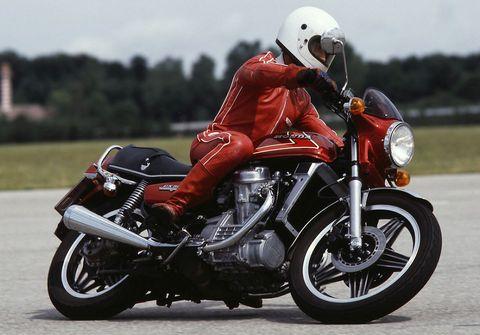 Honda-CX-500 in Alte Motorrad-Liebe rostet nicht