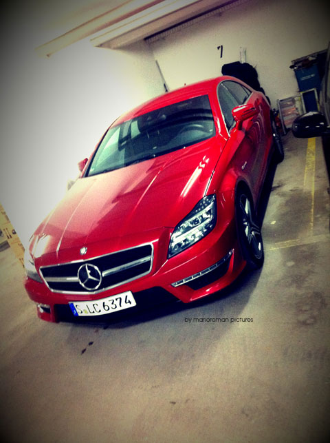 IMG 4165 in iPhone Impressionen: Mercedes-Benz CLS 63 AMG