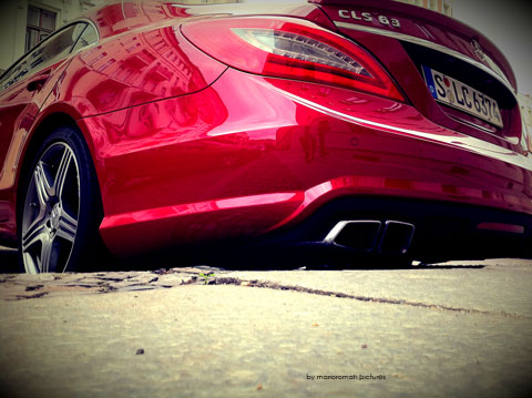 IMG 4169 in iPhone Impressionen: Mercedes-Benz CLS 63 AMG