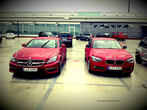 IMG 4174 in iPhone Impressionen: Mercedes-Benz CLS 63 AMG