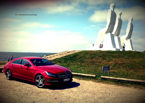 IMG 4243 in iPhone Impressionen: Mercedes-Benz CLS 63 AMG