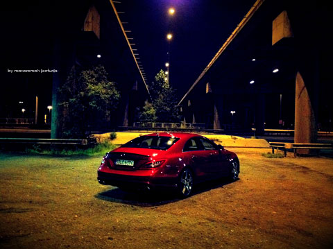 IMG 4245 in iPhone Impressionen: Mercedes-Benz CLS 63 AMG
