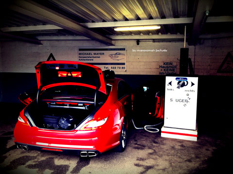 IMG 4246 in iPhone Impressionen: Mercedes-Benz CLS 63 AMG