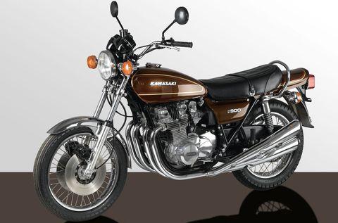 Kawasaki-Z-900 in Alte Motorrad-Liebe rostet nicht