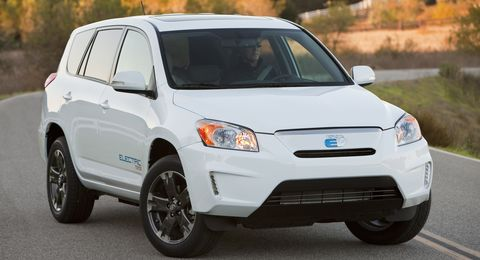 Toyota RAV4 EV LA Motorshow in