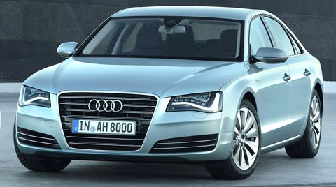 Audi-a8-hybrid in Audi A8 Hybrid: Flaggschiff mit Doppelschlag