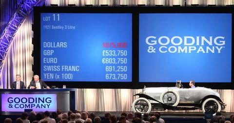 Bentley-chassis-3 in Ferrari Testa Rossa Prototyp wechselt für 16,39 Millionen Dollar den Besitzer