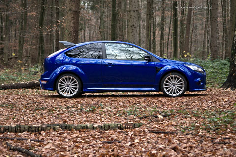 Ford-focus-rs 150-Bearbeite in Impressionen: Ford Focus RS (2009)