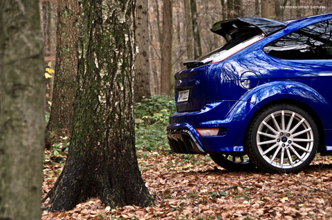 Ford-focus-rs 173-Bearbeite in Impressionen: Ford Focus RS (2009)
