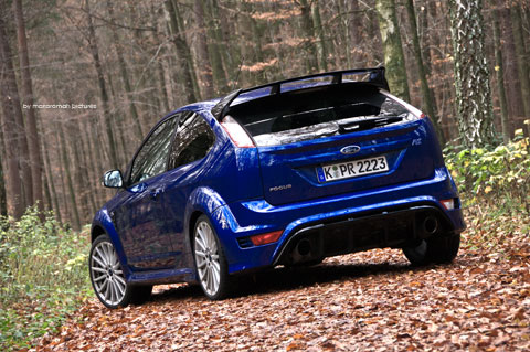 Ford-focus-rs 177-Bearbeite in Impressionen: Ford Focus RS (2009)