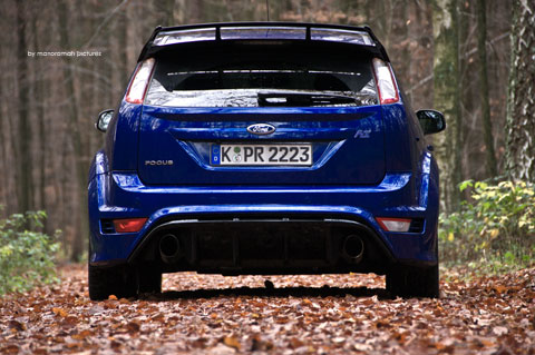 Ford-focus-rs 183-Bearbeite in Impressionen: Ford Focus RS (2009)