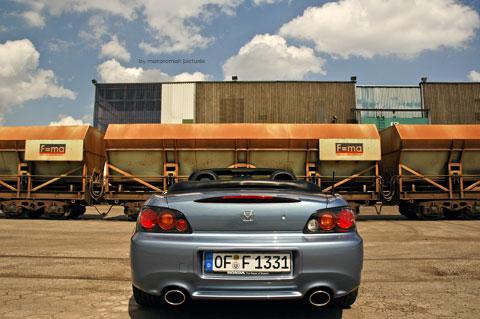 Hondas2000 0284 in Impressionen: Honda S2000