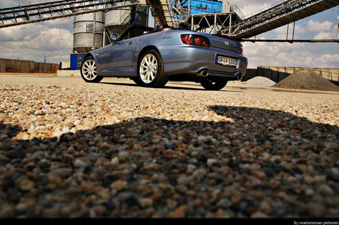 Hondas2000 0366 in Impressionen: Honda S2000