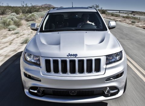 Jeep-grand-cherokee-srt8-2 in Jeep zeigt Grand Cherokee SRT8 und Wrangler